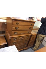7 drawer chest maple