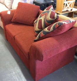 Love seat red