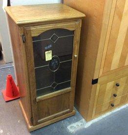 Cabinet on wheels oak
