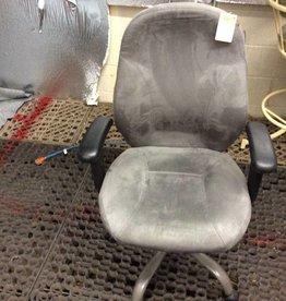 Office chair gray micro