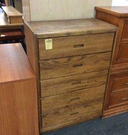 5 drawer chest oak