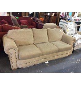 Sofa sleeper queen tan tweed