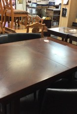 5 Piece Dinette / cherry with2 chairs and 2 benches
