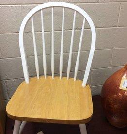 Chair white natrual