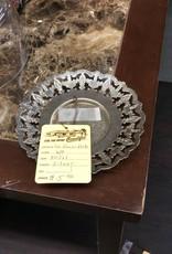 Small decor plate silver
