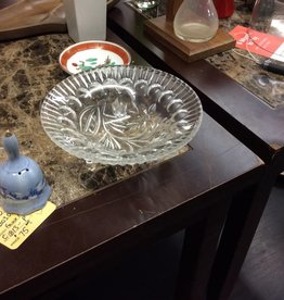 Small dish glass and crystal