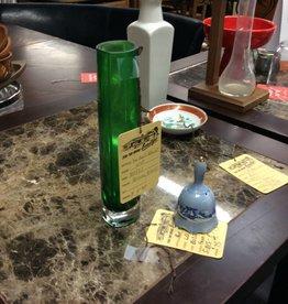 Small tall glass