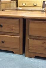 Pair nite stands / 2 drawer