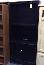 6 1/2 ft wall unit black