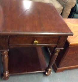 1 drawer end table cherry