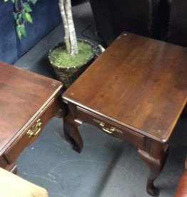 Pr end tables cherry