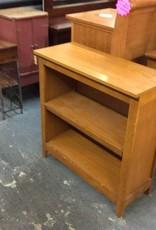3' bookcase mission oak