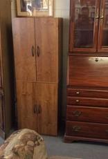 4 door pantry oak wrap