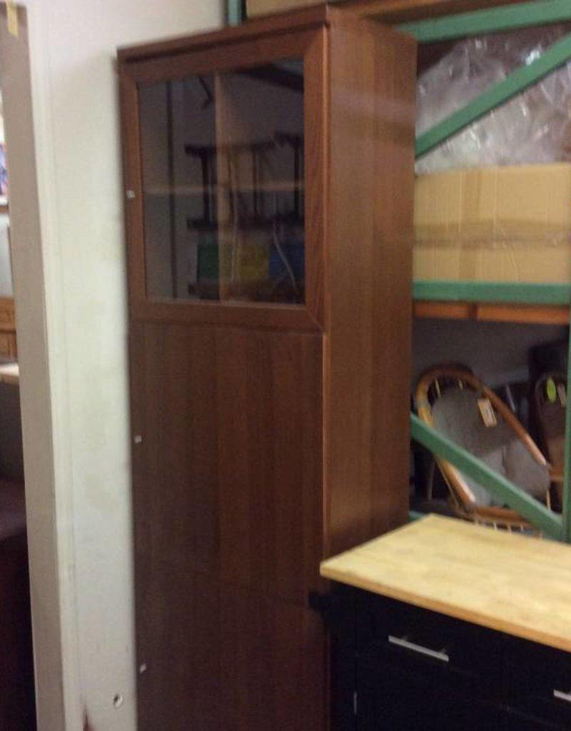 7' storage cabinet cherry