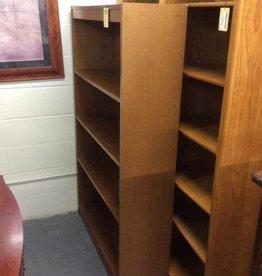 5ft bookcase oak