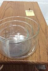 3 glass bowls