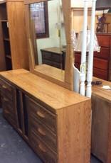 6 drawer dresser with mirror