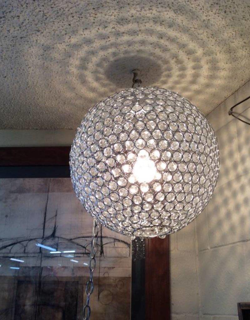 Crystal chandelier crystal and metal