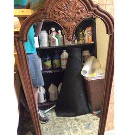Hanging mirror maple