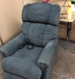 Electric recliner blue lay z boy