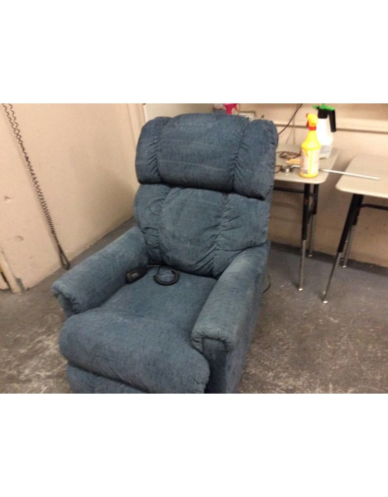 Electric recliner blue lay z boy