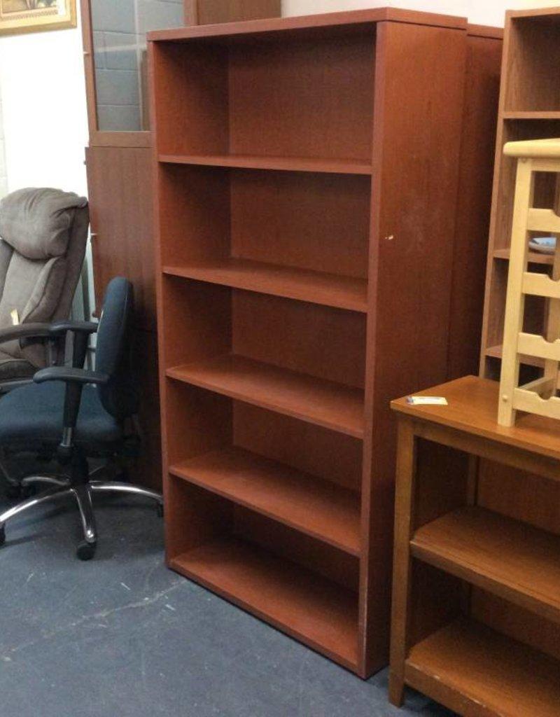 5 tier bookcase oak