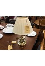 Desk lamp brass white
