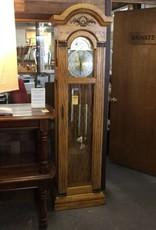 Grandfather clock oak