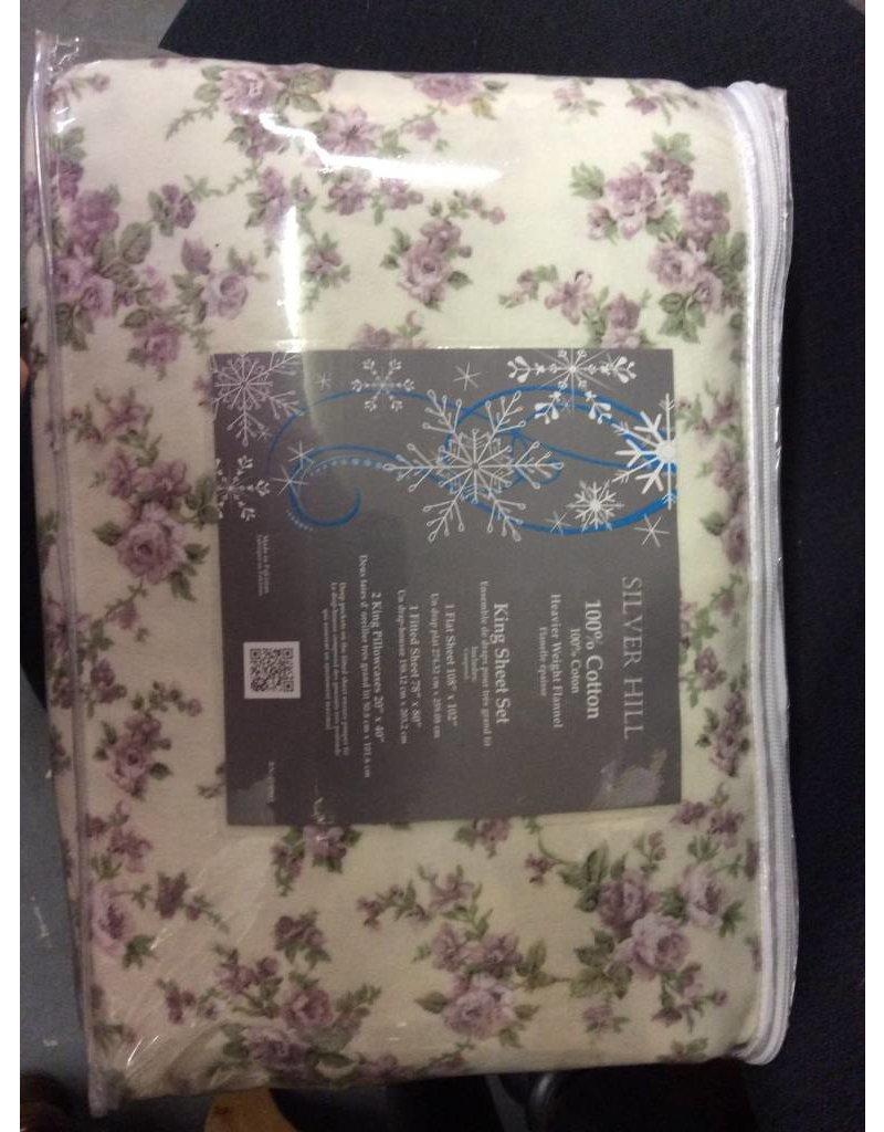 King Sheet Set, floral