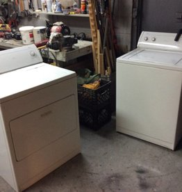 Washer and gas dryer whirlpool