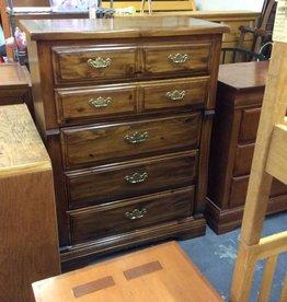 5 drawer chest pine