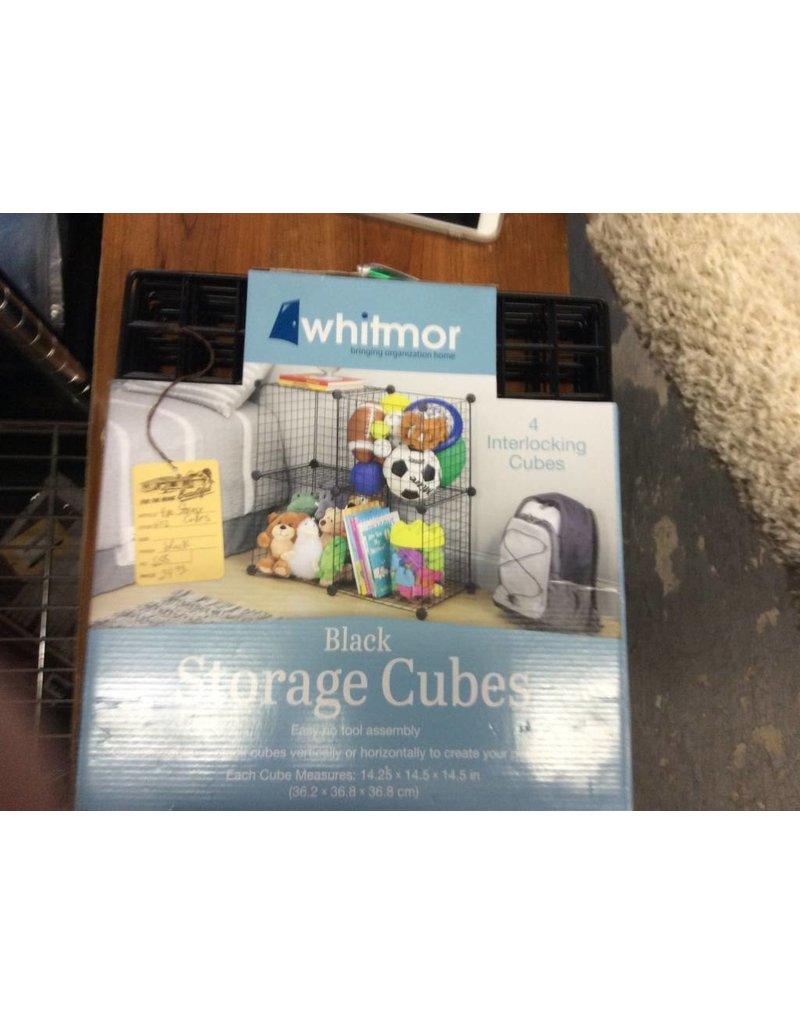 4 pc storage cubes