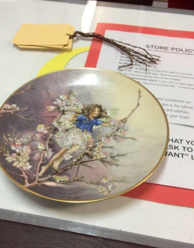 Decor plate fairy