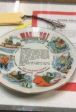 Decor plate fishing pox