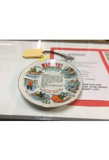 Decor plate fishing pox