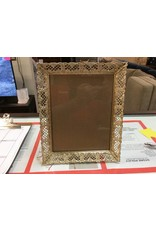 8x10 picture frame gold and cream