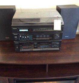 3 piece Panasonic stereo