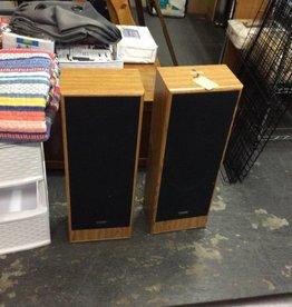 Pair speakers fisher
