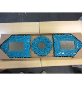 3 pc Mirror Set