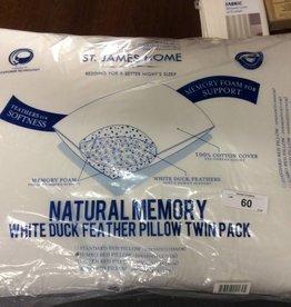 2 pk Feather Pillows