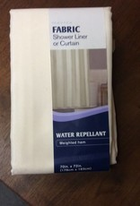 Shower Curtain, ivory