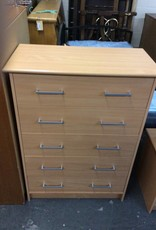 5 drawer chest / natural
