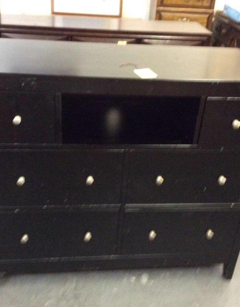 6 drawer media / dresser