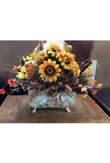 Fake flowers / yellow