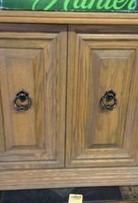 Entry cabinet / oak