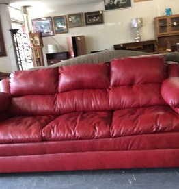 Sofa / red leather