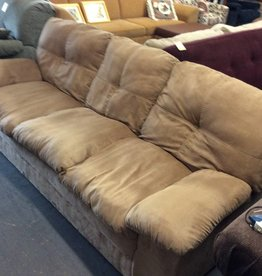 Sofa / tan micro