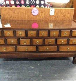 8 drawer coffee table/ do oak