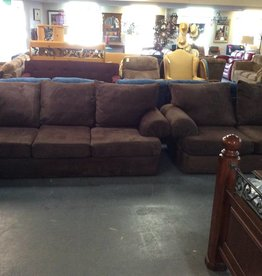 Sofa & love / brown micro