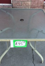 Patio table - green